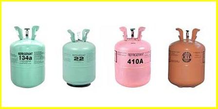 Refrigerants and Properties: r12|r22|r134a|r410a|r404A